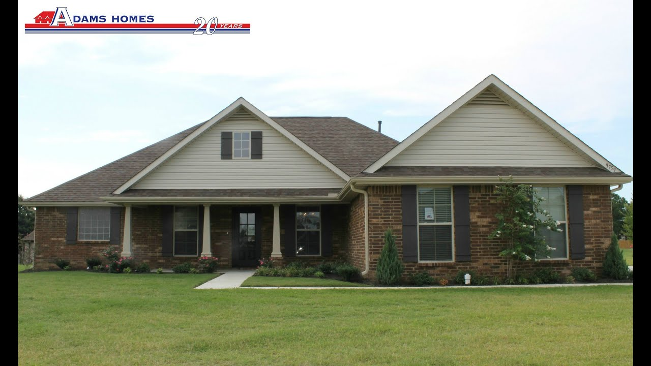 Adams homes olive branch ms lyon 39 s gate 2 010 sq ft for Home builders in south ms