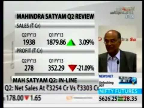 Mahindra Satyam Q2 Press Conference - NDTV Profit