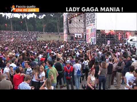 Roma – Stefania Orlando madrina dell'Europride 2011 ed esibizione di Lady Gaga