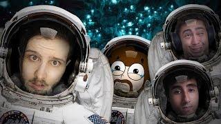 OS PIORES ASTRONAUTAS DO UNIVERSO! #2 ft.Felps, Alanzoka e Marques