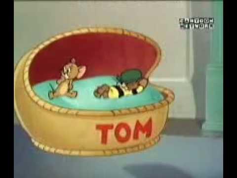 TOM Y JERRY - EL PRIMO MIEDOSO DE TOM