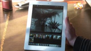 "Test tablette Apple ""nouvel"" iPad (iPad 3) application ecran Retina"
