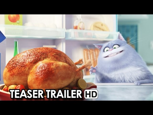 The Secret Life Of Pets Official Teaser Trailer (2016) HD