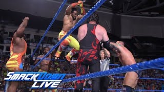 Team Hell No & The New Day vs. The Bludgeon Brothers & SAnitY: SmackDown LIVE, July 10, 2018