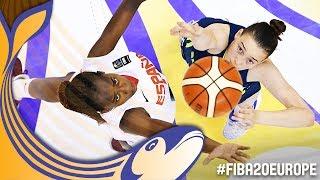 Spain v Slovenia - Full Game - Final - FIBA U20 Women's European Championship 2017