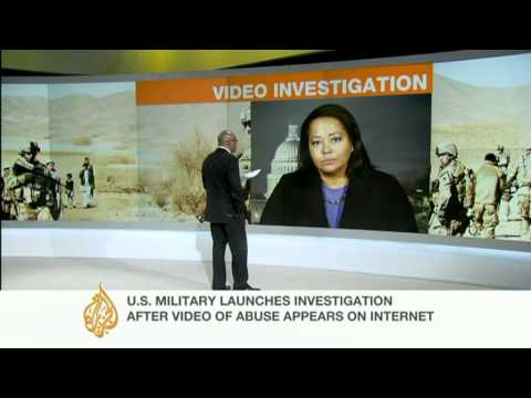 Al Jazeera's Rosiland Jordan speaks about the US marine video scandal