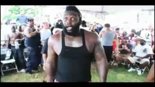 BACKYARD MMA --- Bruce v Chocolate !!!!