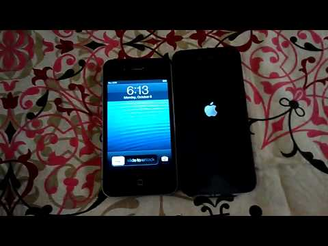 Apple iPhone 5 ,Unboxing,slight comparision with iPhone 4 from India