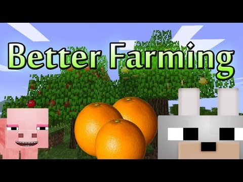Minecraft Mods - Better Farming 1.2.5 Review and Tutorial ( Client & Server )