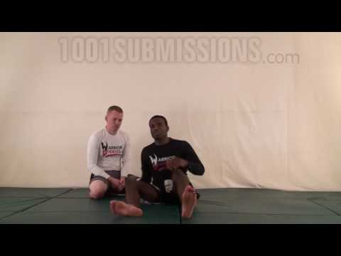 Burnt French fry choke from open guard (Grappling)
