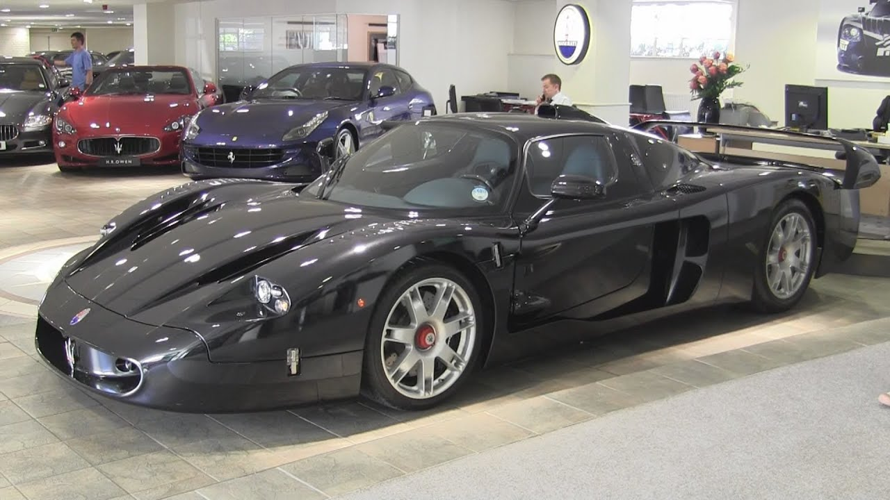 maserati mc12 at maserati london youtube. Black Bedroom Furniture Sets. Home Design Ideas