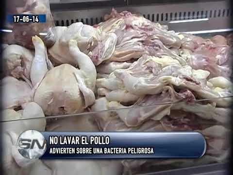 No lavar el pollo   Advierten sobre una bacteria peligrosa