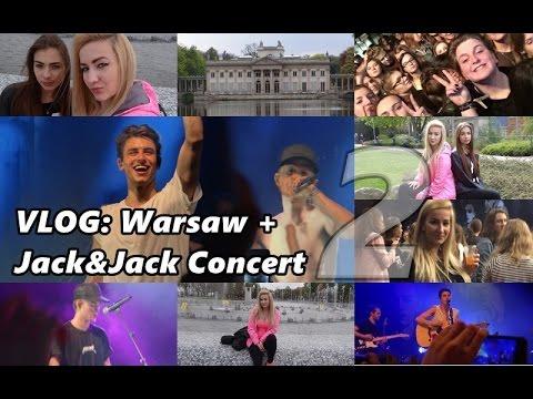 Vlog: Warszawa + Koncert Jack&Jack Cz.2