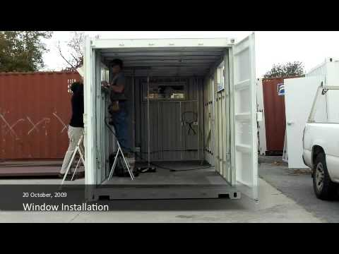 Containers to Clinics Construction Video