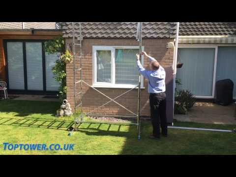 First 5 DIY Aluminium Scaffold Tower Assembly Guide.