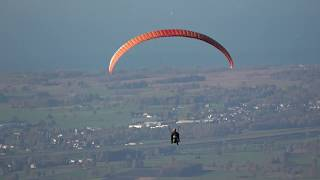Sony FDR AX53 4K Zoom Demonstration - Amazing zoom test up to 250x - paragliding dornbirn