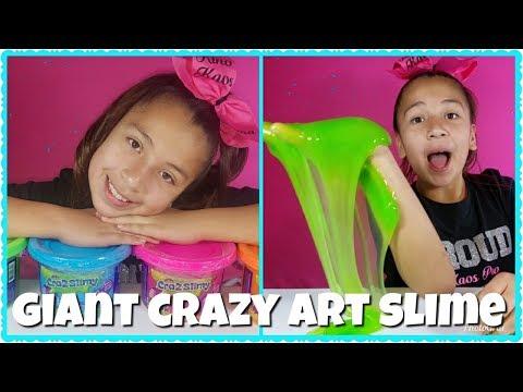 GIANT CRAZY ART SLIME