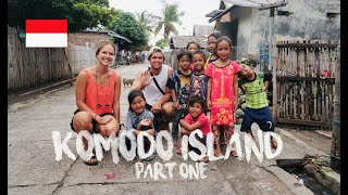 KOMODO ISLAND TRIP PART 1 | HAPPIEST PEOPLE IN THE WORLD