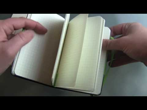 Moleskine Evernote Smart Notebook Unboxing
