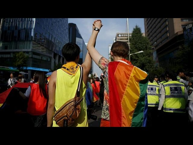 South Korea and Philippines celebrate gay pride - no comment