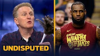 Michael Rapaport says it's over for LeBron's Cavs in the Eastern Conf. Finals | NBA | UNDISPUTED