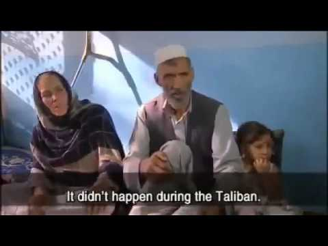 Afghanistan-We want the Taliban back!