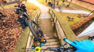 URBAN MTB FREERIDE STREET TOUR in SCHWEINFURT, GERMANY!