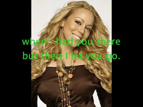 Mariah Carey Cant live if living is without you with Lyrics