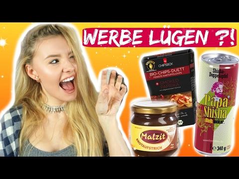 WERBUNG vs. REALITY - Gesunde Chips, Drink gegen Mundgeruch & MEHR!