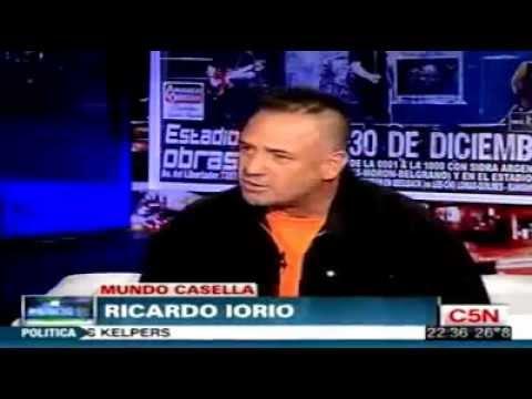 Ricardo Iorio habla de los wachiturros y mas..(segmento)