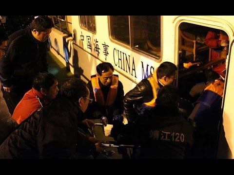 3 rescued, 22 missing after boat sinks in Yangtze River