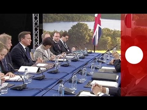 G8: 3 'T's and Syria top summit agenda
