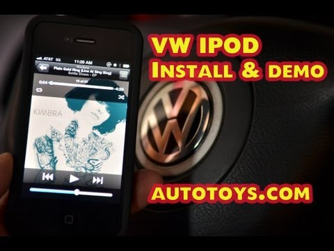 Volkswagen VW Jetta IPOD AUX. Ipod. Android adapter by Grom / Autotoys.com