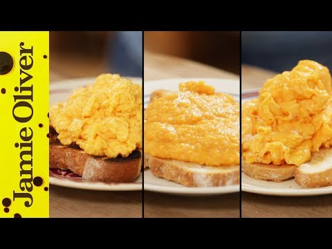 British french and american style scrambled eggs videos for French style scrambled eggs