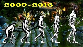 The Evolution Of Master Yi [2009-2016] League Of Legends