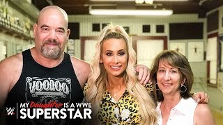 Carmella's dad was a WWE Superstar?!: My Daughter is a WWE Superstar