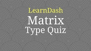 How to Import Matrix Quiz from LearnDash