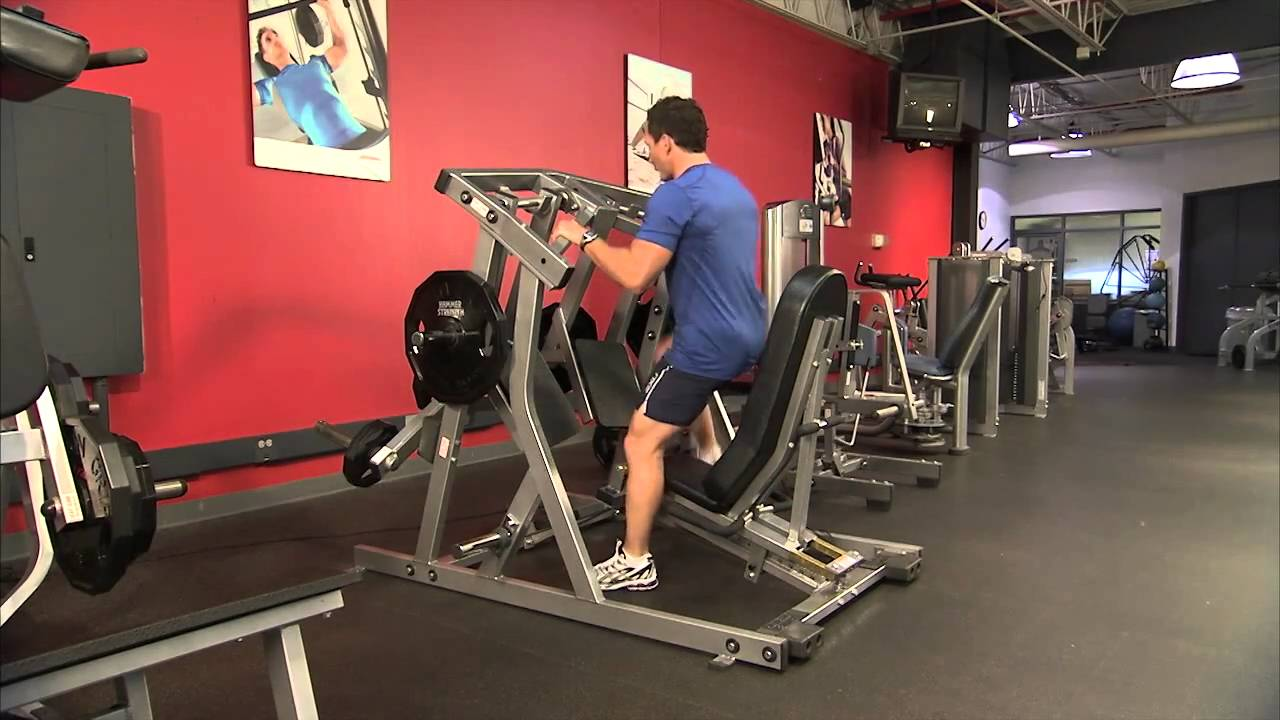 Hammer Strength Plate Loaded Ul Leg Press Instructions