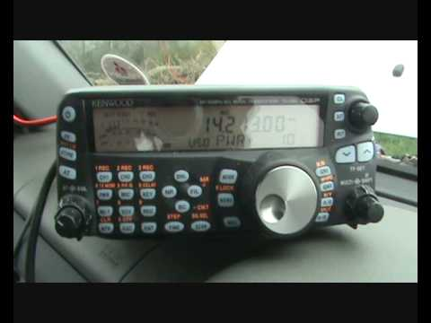 Ham radio in the Peak District
