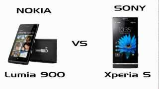 Compare Lumia 900 and Xperia S