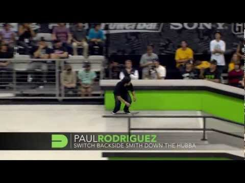 Dew Tour - Best Skateboarding Tricks from Salt Lake City - P-Rod, PLG, Lutzka, Dias, Lasek & Decenzo