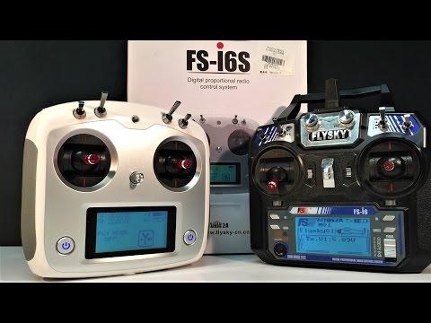 Part 1 Flysky FS - i6S transmitter
