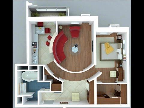 Apartamentos videolike for Planos de apartamentos modernos