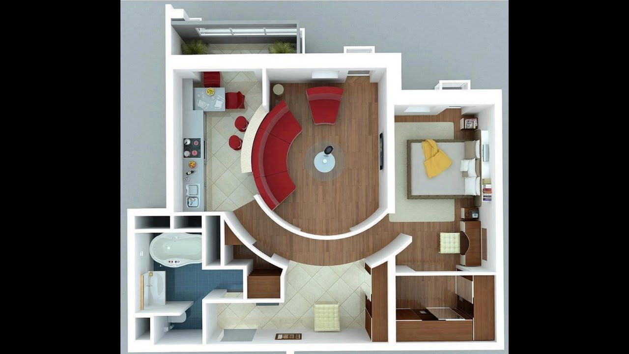 Planos de apartamentos peque os youtube for Apartamentos pequenos modernos