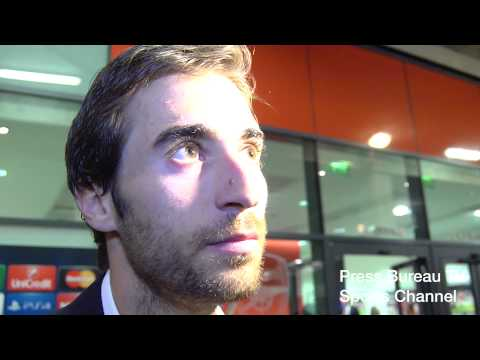 Mathieu Flamini reaction Arsenal vs Besiktas