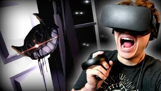 BENDY IS IN MY HOUSE! HELP!!   Bendy and The Ink Machine in Virtual Reality (BATIM VR)