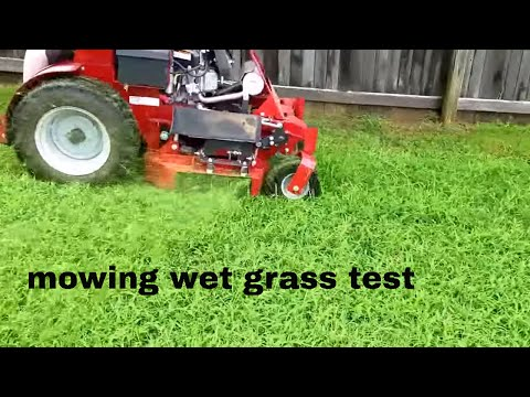 Videos like this stander x gen 2 noonews wet grass test on my lawn with ferris stander real time no music fandeluxe Gallery