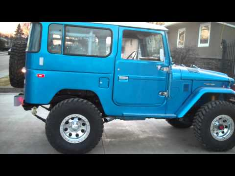 BJ42 TOYOTA LAND CRUISER DIESEL FJ40 ESTEVAN. SASK  CANADA BEAUTIFUL