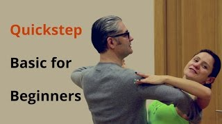 How To Dance Quickstep / Basic Steps for Beginners