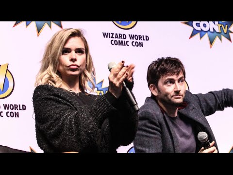Doctor Who David Tennant and Billie Piper at Wizard World Comic Con Philadelphia
